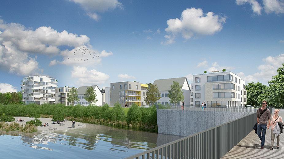 2013 neckarbogen h hnig gemmeke freie architekten bda - Architekten tubingen ...